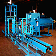 Material Handling System to Weigh and Stack Fasteners and Feed Totes